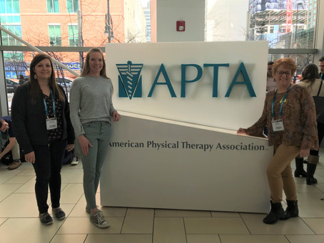 Physical Therapy Staff Attend Training