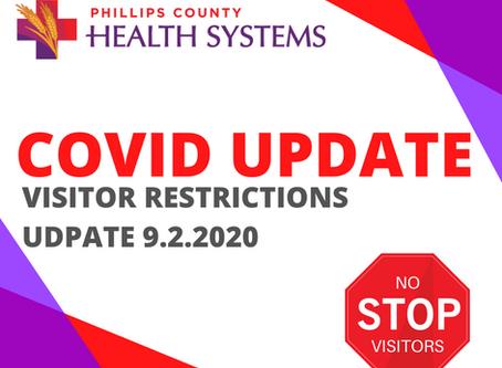 COVID UPDATE 9.02.2
