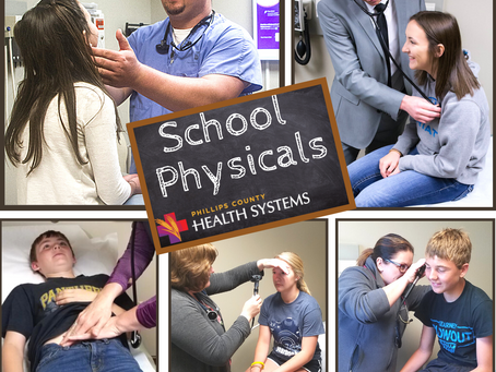 It's School Physical Time!