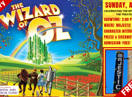 FREE MOVIE - THE WIZARD OF OZ 80TH ANNIVERSARY