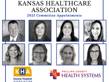 Kansas Hospital Association Appoints PCHS Team to Advisory Committees
