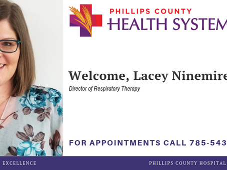PCHS WELCOMES RESPIRATORY THERAPIST, LACEY NINEMIRE