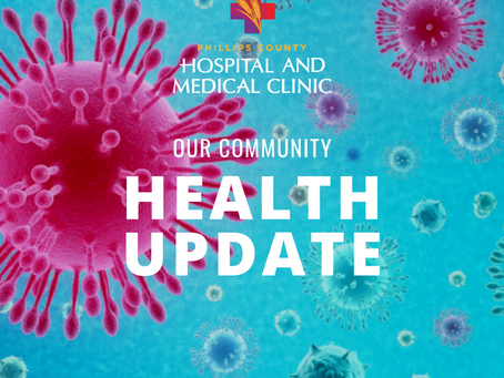PHILLIPS COUNTY HEALTH SYSTEMS ANNOUNCES ACTIONS TO ADDRESS THE CORONAVIRUS