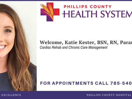 Katie Kester Joins PCHS as Cardiac Rehab and Chronic Care Manager