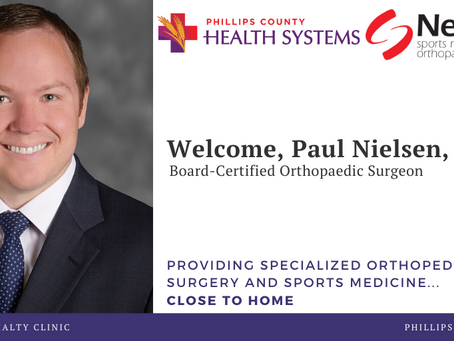 NEW WEST SPORTS MEDICINE AND ORTHOPAEDIC SURGERY BEGINS OUTPATIENT CLINIC IN PHILLIPSBURG