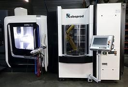 1- Roboprod CELL-MILL-DMU50 DMG MORI (10