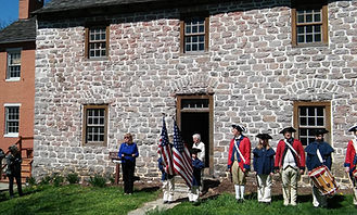 Frederick Town Fife and Drum at Schifferstadt's Bell and History Day