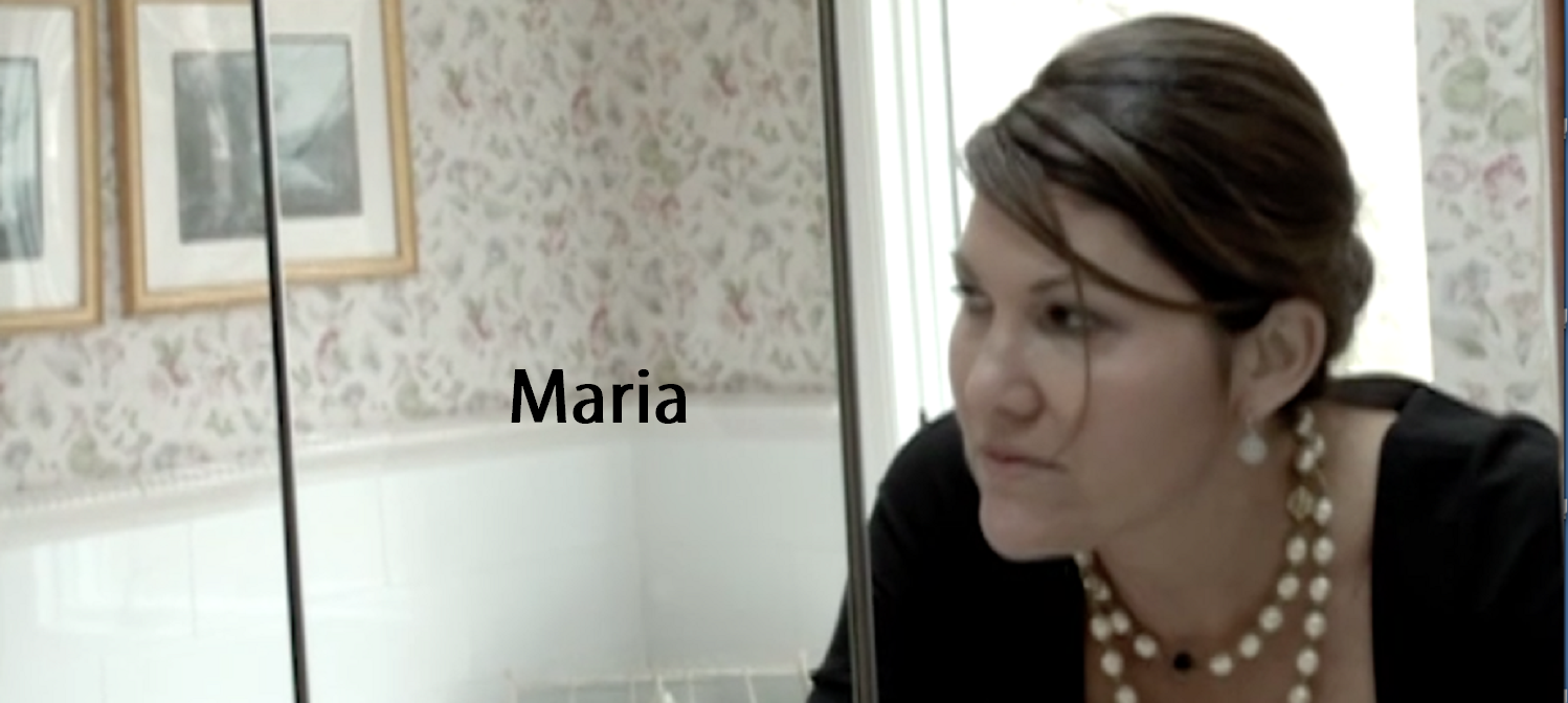 Maria Home Page with title
