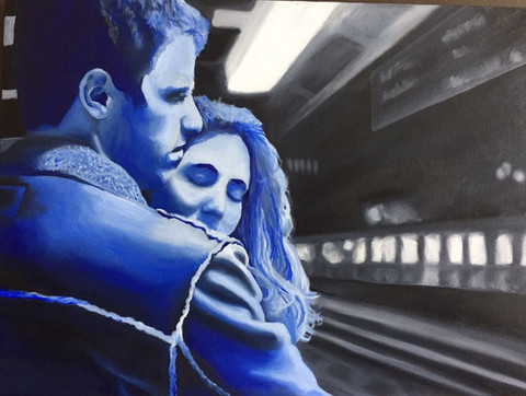 Love in the Train Station