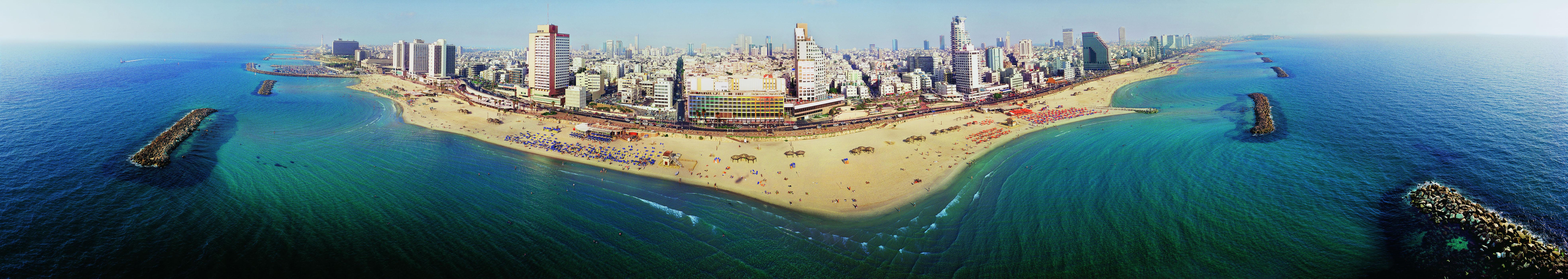 חופי תל אביב 360 מעלות