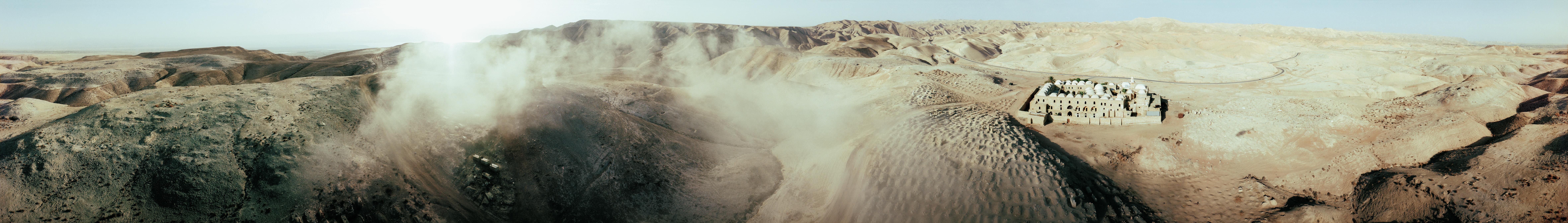 נבי מוסא 360 מעלות מהאוויר