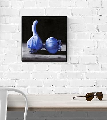 Blue Garlic | Limited Edition Print