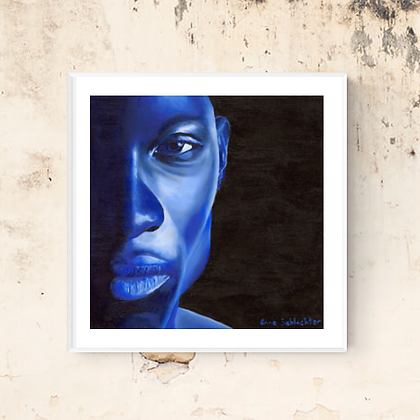 Blue Man | Limited Edition Print