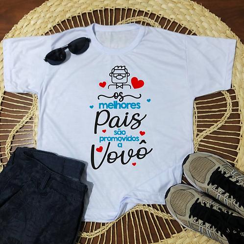 Camisa Os Melhores Pais São Promovidos A Vovô