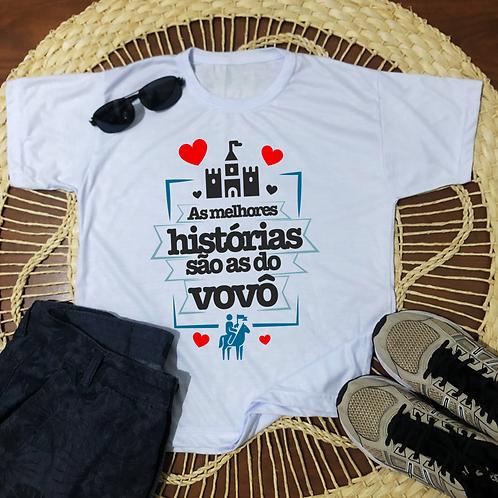 Camisa As Melhores Histórias São As Do Vovô