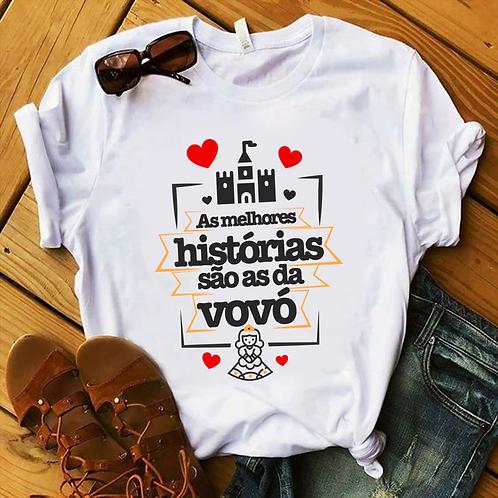 Camisa As Melhores Histórias São As Da Vovó