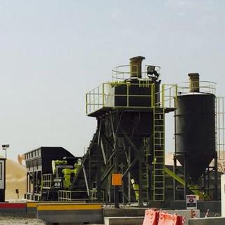 WBS300/WBS500/WBS600 Sub Base Soil Mixing Plant