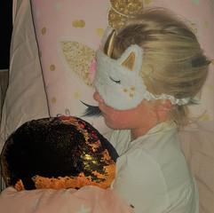 Een slaapmaskertje is een leuke attentie die je kan bijbestellen bij het huurpakket (opgelet: tijdig bestellen!)