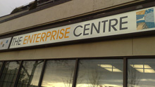 Entrance to THE ENTERPRISE CENTRE