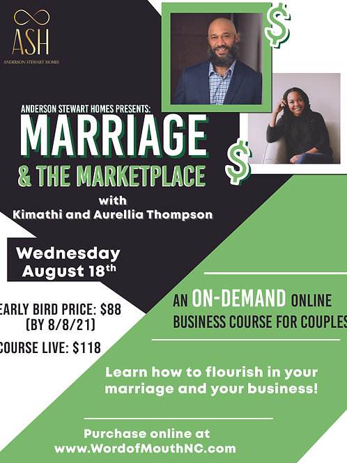 Marriage & The Marketplace On-Demand Course
