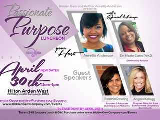 NEW DATE: Passionate Purpose Luncheon