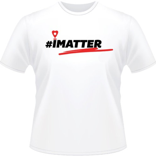 Men's #iMatter Drop-Pin tee