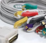 Câble ECG 10 fils avec colliers de pince
