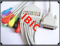 Schiller one piece EKG Cable, DB 15Pin