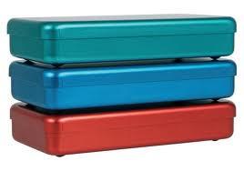 Boîte de stérilisation en aluminium