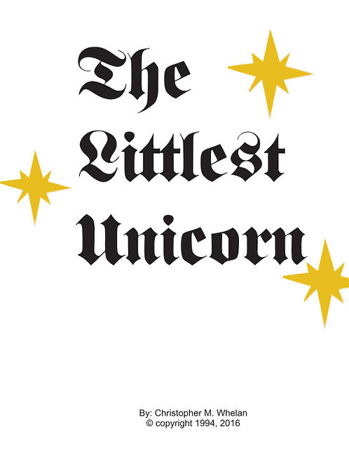 The Littlest Unicorn (Hardcover)