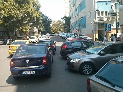 Parking issues in Bucharest