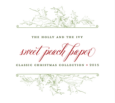 Sweet Peach Paper Classic Christmas Collection 2015