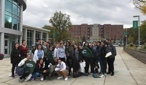 SUNY Binghamton Trip