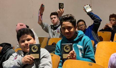 Middle School Debate Victory