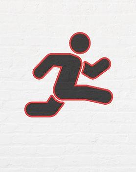 Girls Track Logo