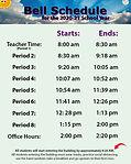 2020-21 Bell Schedule