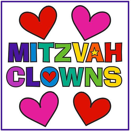 Mitzvah Clowning - $25/36