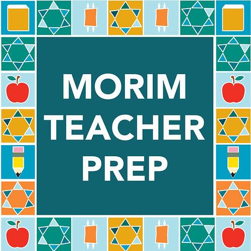 Morim Teacher Prep - $60/$75