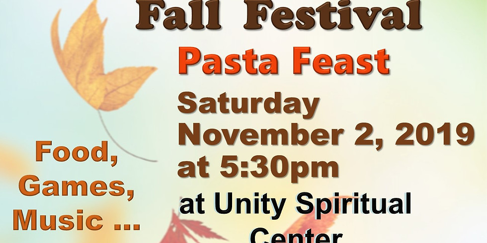 Fall Festival Pasta Feast 2019