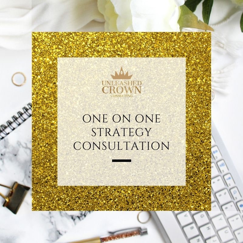 One on One Strategy Consultation