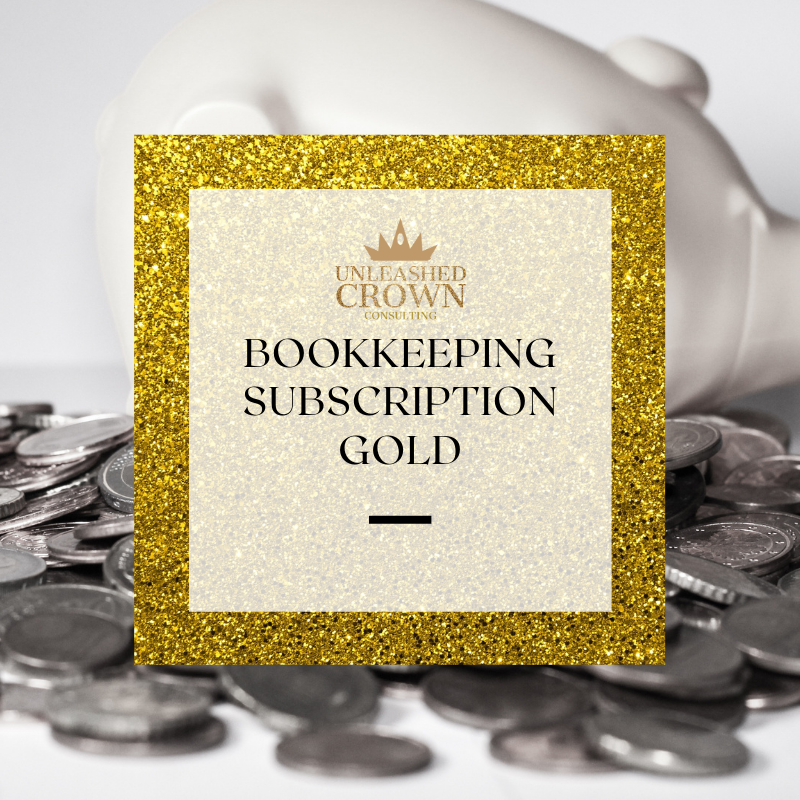 Bookkeeping Subscription - Gold