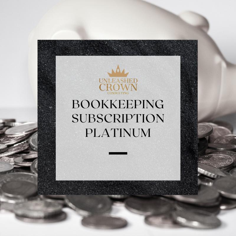 Bookkeeping Subscription - Platinum