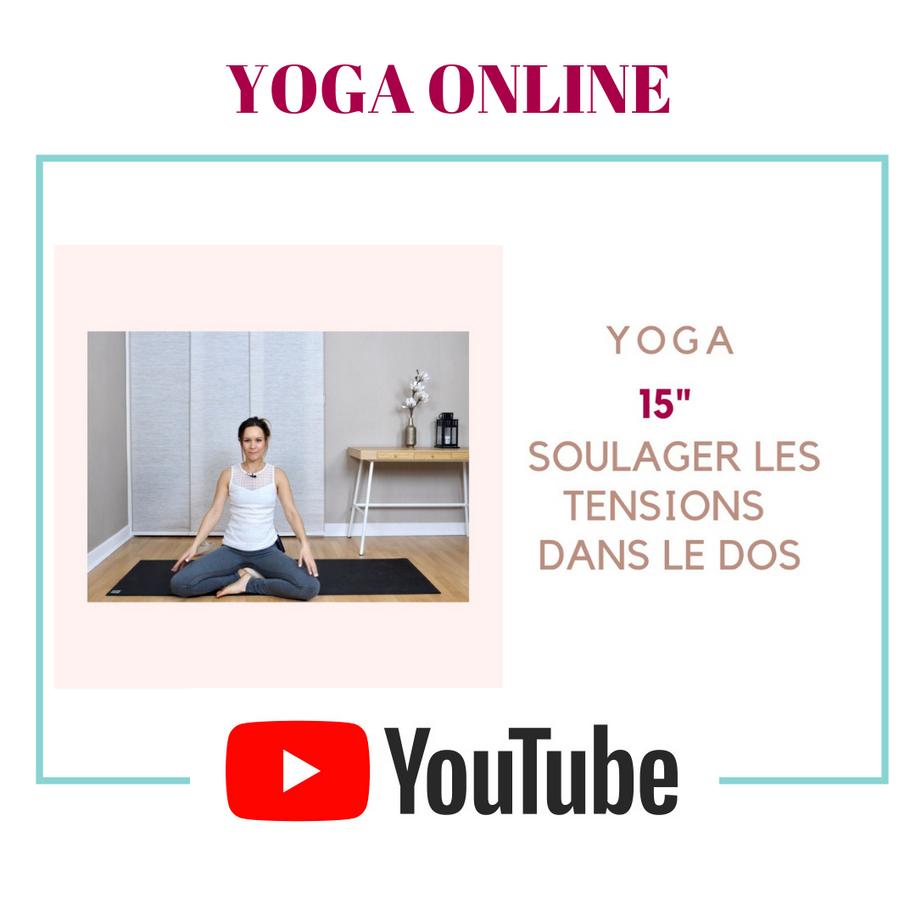 Lancement de ma chaîne de Yoga YouTube
