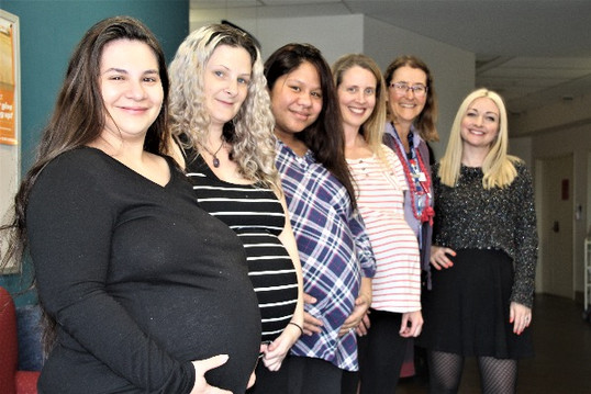 Mothers with Dr Catherine Crock and Kate Miller-Heidke.