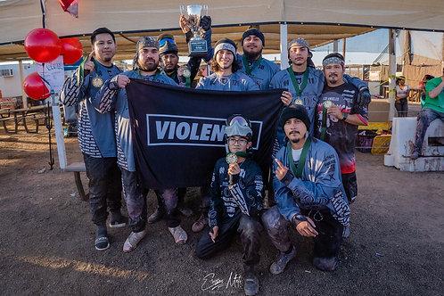 VIOLENCE. Banner