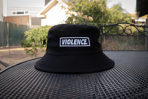 VIOLENCE. Bucket Hat