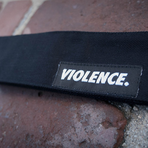 VIOLENCE. Black Denim
