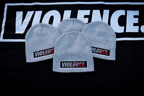 VIOLENCE. Cuffless Beanie