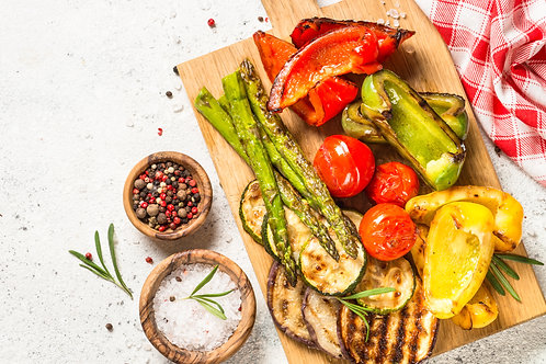 Grilled Seasonal Veggies
