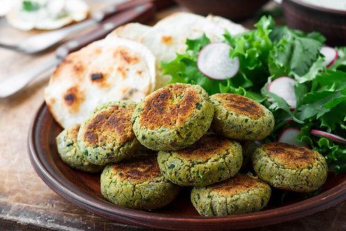 Grilled Falafel Kebabs